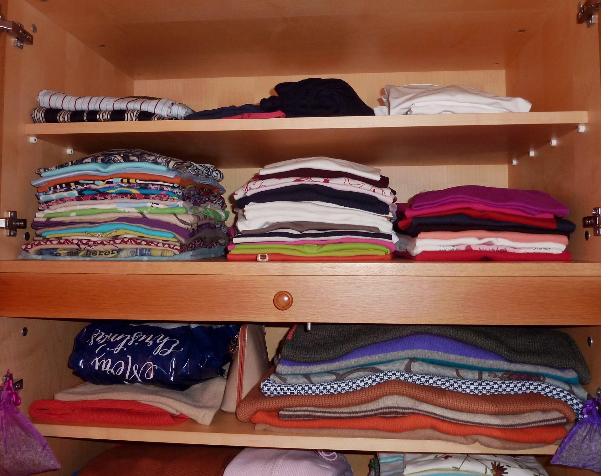 Come organizzare l'armadio in modo efficace