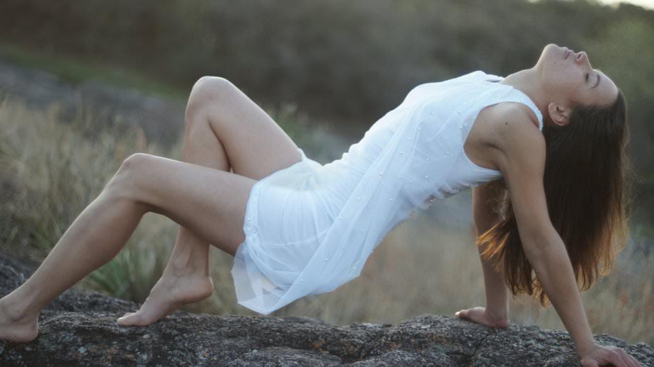 vestito bianco
